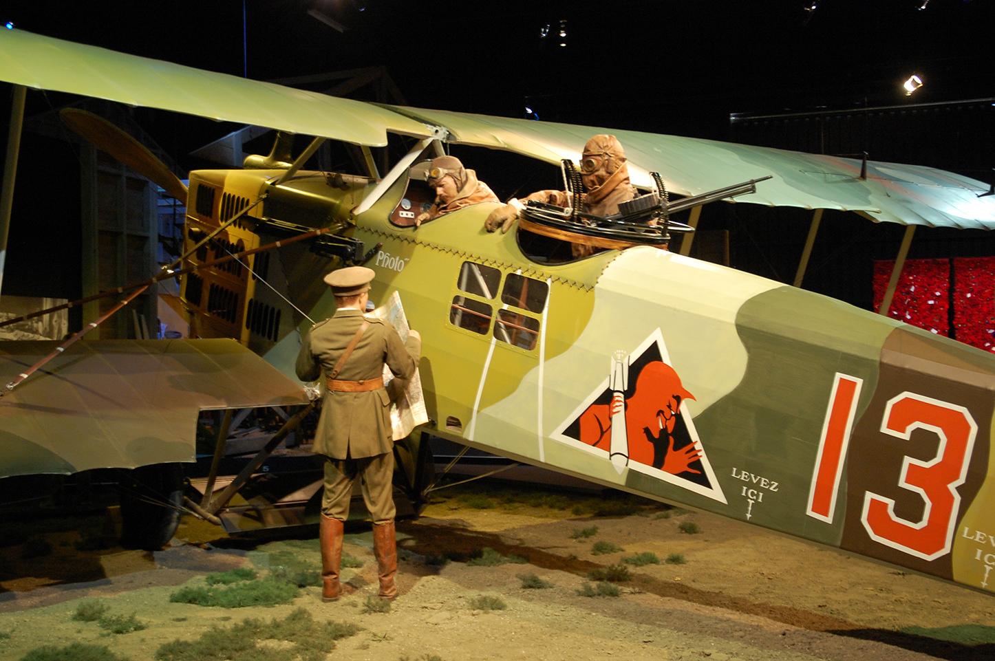 見応えのあったブレナムの航空博物館