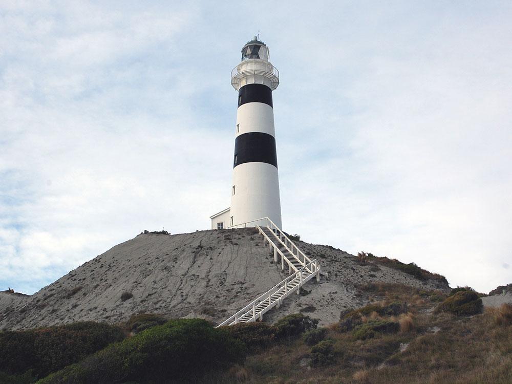 映画「光をくれた人」の舞台-ニュージーランドのキャンベル岬灯台