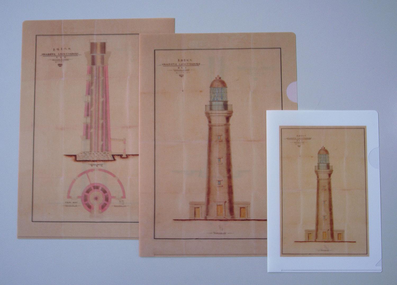あの重要文化財「犬吠埼灯台ノ図」がクリアファイルに!
